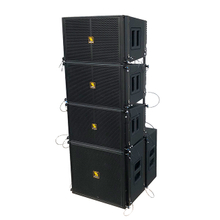 LA10&LA15S Single 10 Inch Compact Powered Line Array PA System