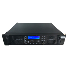 D10Q 4CH Sound Audio Digital DSP Power Amplifier with Ethernet